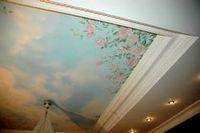 Рисунки на высоте. краски для росписи потолков