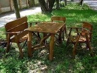 Садовая мебель из дерева - вне конкуренции!