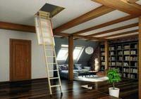 Складные чердачные лестницы fakro