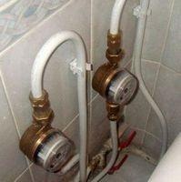 Трубы для водоснабжения и счетчики для воды