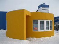 В городе ступино возвели дом с помощью мобильного строительного 3d-принтера