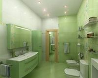 Варианты оформления габаритной ванной комнаты