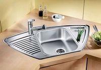 Выбираем кухонную мойку. преимущества угловых моделей