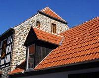 Выгодные качества цементно-песчаной черепицы для элитного жилища